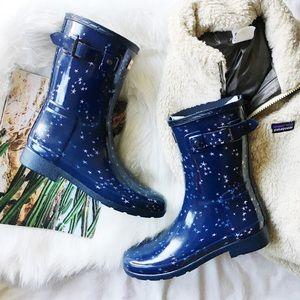 Hunter Refined Constellation Short Rain Boots